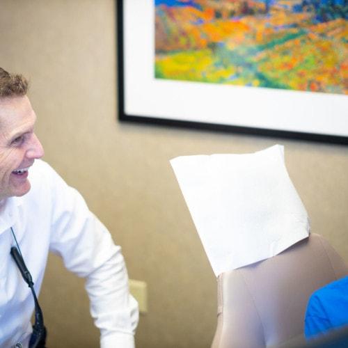 Doctor Candids HWH Ortho 2020 Topeka KS Orthodontist 29 1 500x500 - Meet Dr. Don Wilson   Your Orthodontist - HWH Orthodontics
