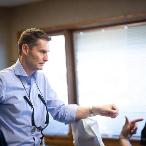 Doctor Candids HWH Ortho 2020 Topeka KS Orthodontist 36 1 500x500 - Meet Dr. Don Wilson   Your Orthodontist - HWH Orthodontics