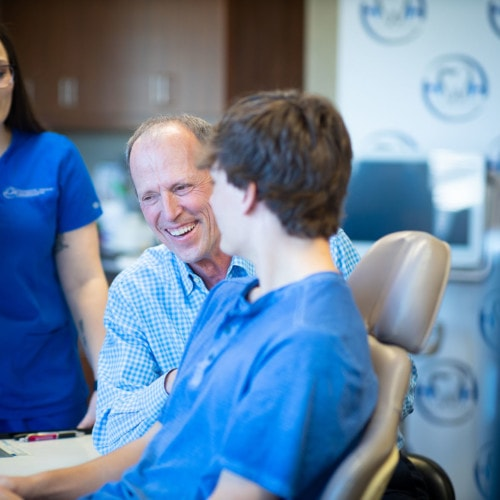 Doctor Candids HWH Ortho 2020 Topeka KS Orthodontist 81 1 500x500 - Can Invisalign Fix an Overbite?