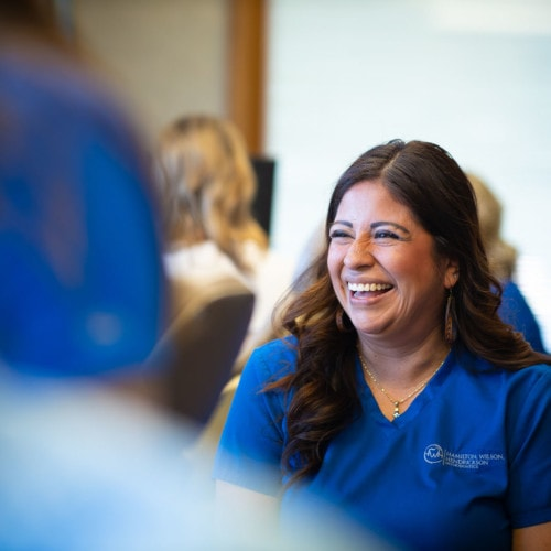 Staff Candids HWH Ortho 2020 Topeka KS Orthodontist 166 500x500 - What Does Team-Treating Mean for Our Patients?