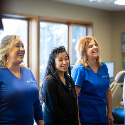 Staff Candids HWH Ortho 2020 Topeka KS Orthodontist 168 500x500 - What Does Team-Treating Mean for Our Patients?